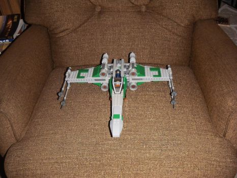 Custom X-Wing A by BrigadierDarman