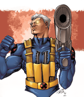 Cable by coloring by DelHewittJr