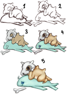 The Know How - Cubone style by aiMikash