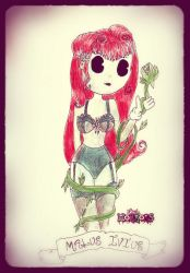 Vintage Poison Ivy by Little-Horrorz