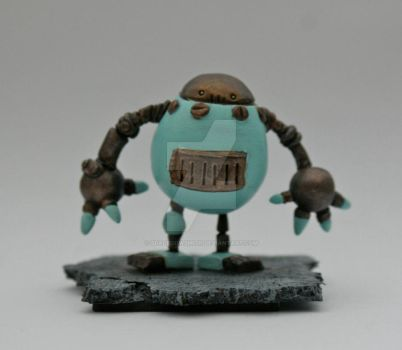 Eggy Minibot by SpaceCowSmith