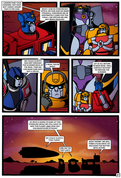 Transformers: Bloodline PAGE 31 by KingRebecca