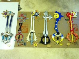 all six keys for otakon! by finaformsora
