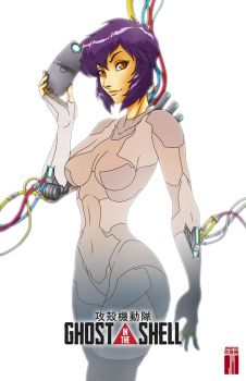 Ghost in the Shell by artofJEPROX