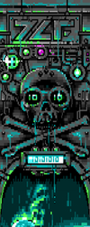 ANSI Legends Never Die by ungenannt