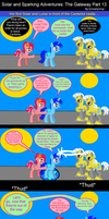 Solar and Sparking Adventures: The Gateway Part 13 by EmoshyVinyl