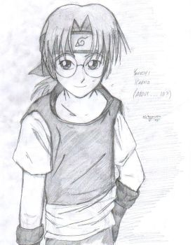 kabuto...younger...I hope by reimyourou