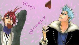 Renji and Grimmjow banner by GaaraFan333
