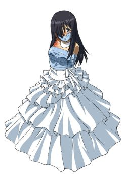 Hanako In Wedding Dress Gagged by Daikinbakuju