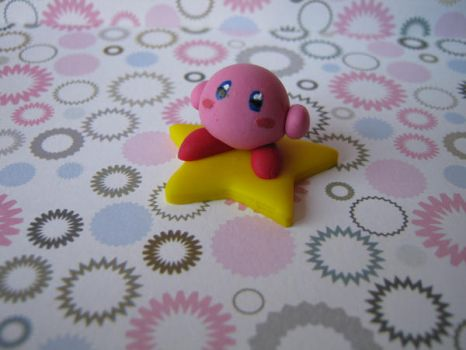 Kirby figure by Vocalist-RedSpade