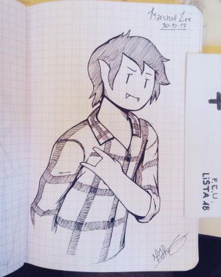 Marshall Lee by Sketchecitos
