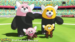 (MMD Model) Stufful and Bewear Download by SAB64
