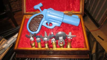 Toon Revolver And Bullets by PropShopFX