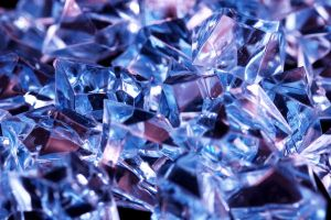 Crushed Blue Glass by ImageAbstraction