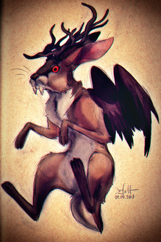 Wolpertinger by Efalt