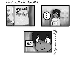 Liam's a Magical Girl #27 by TwilightHomunculus