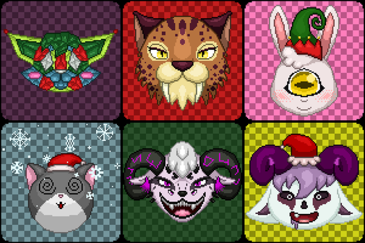 Pixel Icon Compilation #1 by knux400