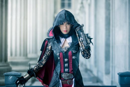 Evie Frye in Bloofer Lady Outfit by LadyAngelus