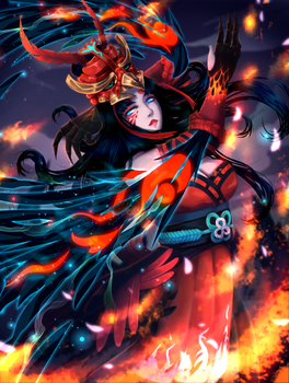 Dance of the Phoenix [Contest Entry] by Chiichen