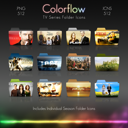 Colorflow TV Folder Icons 3 by Crazyfool16