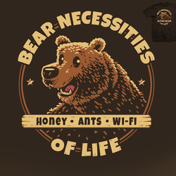 Bear Necessities - tee by InfinityWave