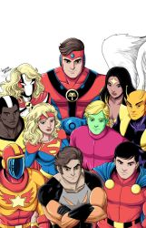 Legion Of Super Heroes Pre Crisis by LucianoVecchio