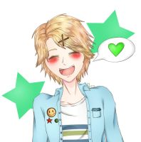 It's Yoosung!~ by wolfdrawing2