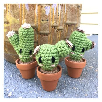 Tiny Cactus' by TheArtisansNook