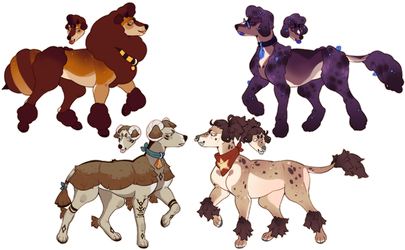 poodle adopts : closed by peach-water