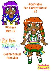 C.C. Adoptable Revealed: Confectionist Pumpkin by Magical-Mama