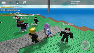 Roblox guest 666 by larisa203