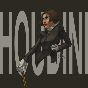 The Great Ms. Houdini by Fayetalstudios