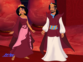 King Ahab and Queen Jezabel by QueenS23