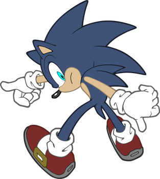 Discorded Sonic Vector by SputnikMann
