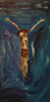 Crucifixion V by ForgetfulRainn