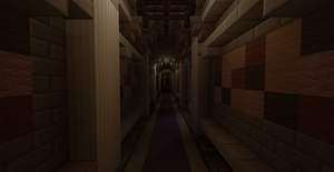 Kings Castle Hallway - Minecraft by skysworld