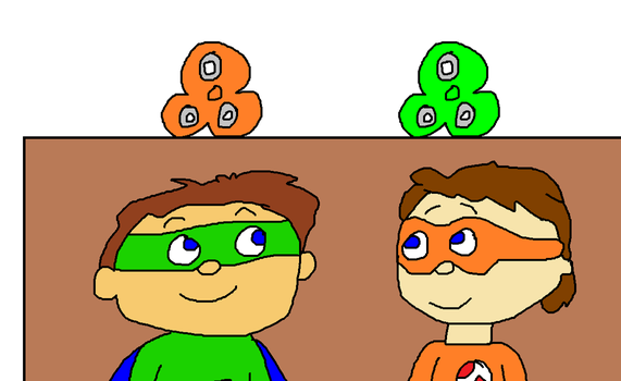 Proto and Super Why with Fidget Spinners by MikeEddyAdmirer89
