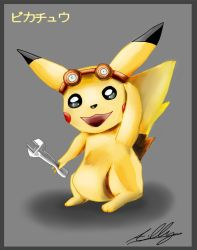 Pikachu by Adam-Clowery