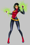 My Commission: Spider-Woman NEW by gh0st-of-Ronin