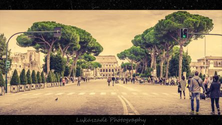 All Roads Lead to Rome by Lukaszade