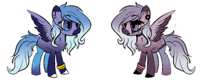 MLP Sister Auction - CLOSED by CHEESE-CHEDDAR