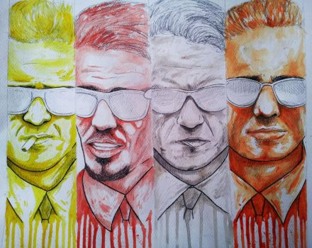 Reservoir dogs unfinished by ReVerbaration