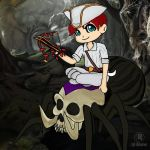 archer Pirate in spider by LuhaBiha