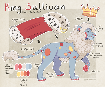 King Sullivan Reference by SmidgeFish