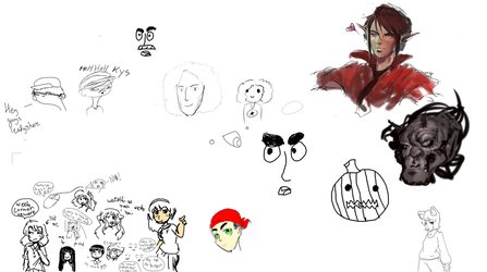 Art Lounge Drawpile #6 by Masterfireheart