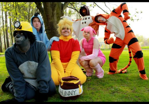 day 114 - Hundred Acre Wood by Kaalii