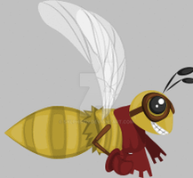 Pilot Bee Animation by Sylphiren