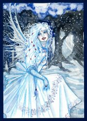 Frost and Moonlight by Yundah