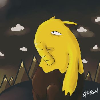 Lonely Drowzee by cHakigun