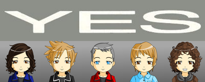 Yes - 80's Line-up(AKA Yes-West) by hitop211